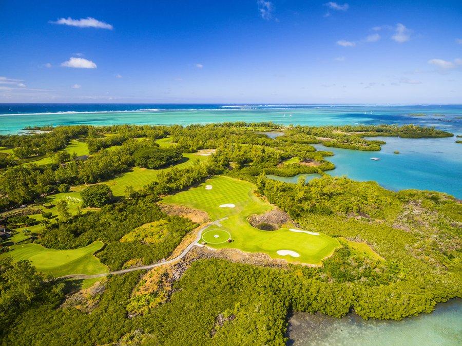 Golfbanen van wereldklasse