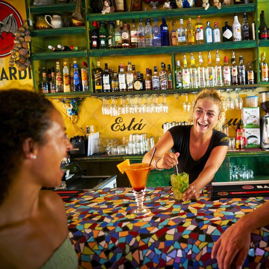 The Curaçao liquor
